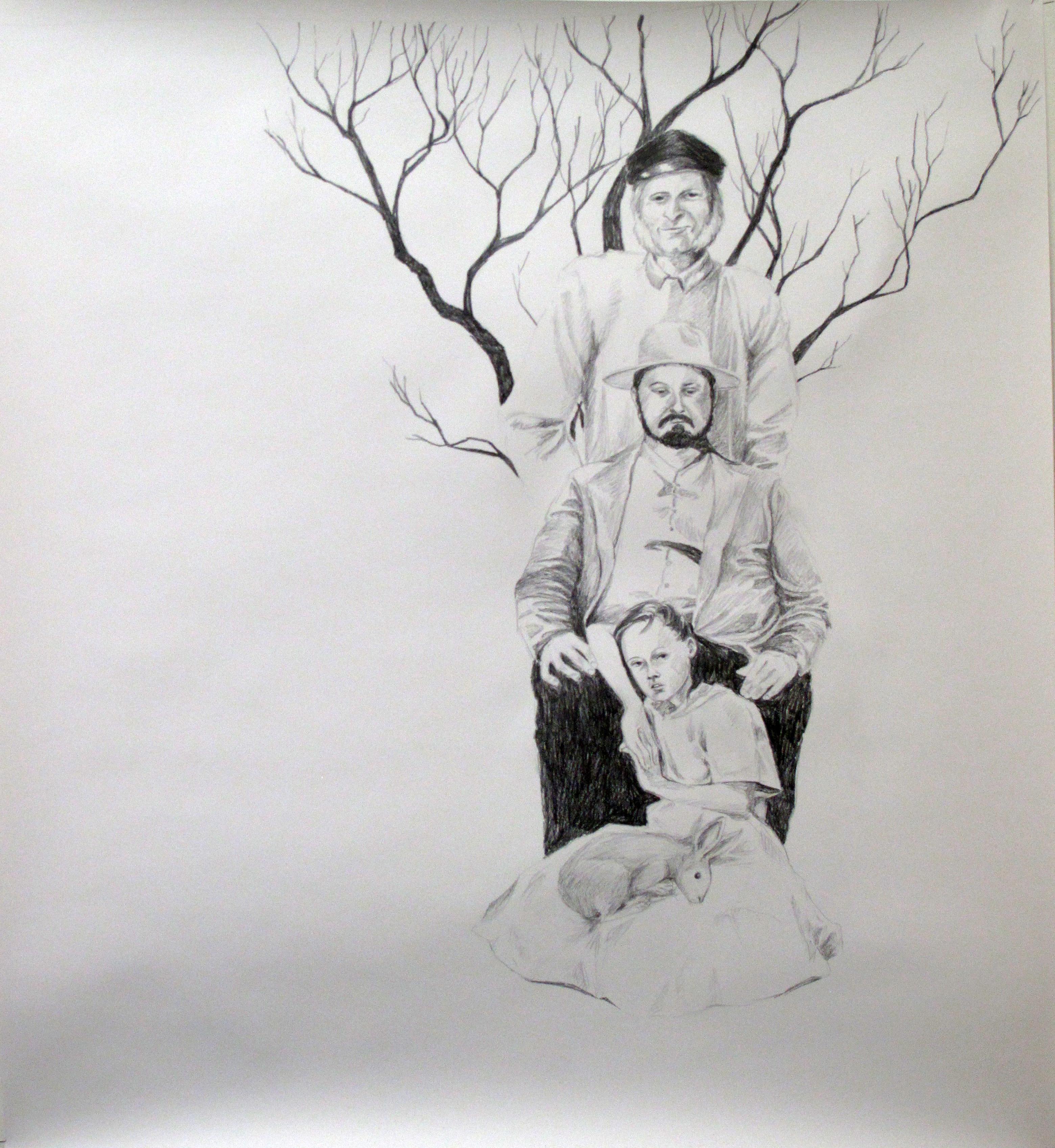 arbre et lièvre