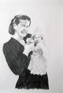 Gram et bébé