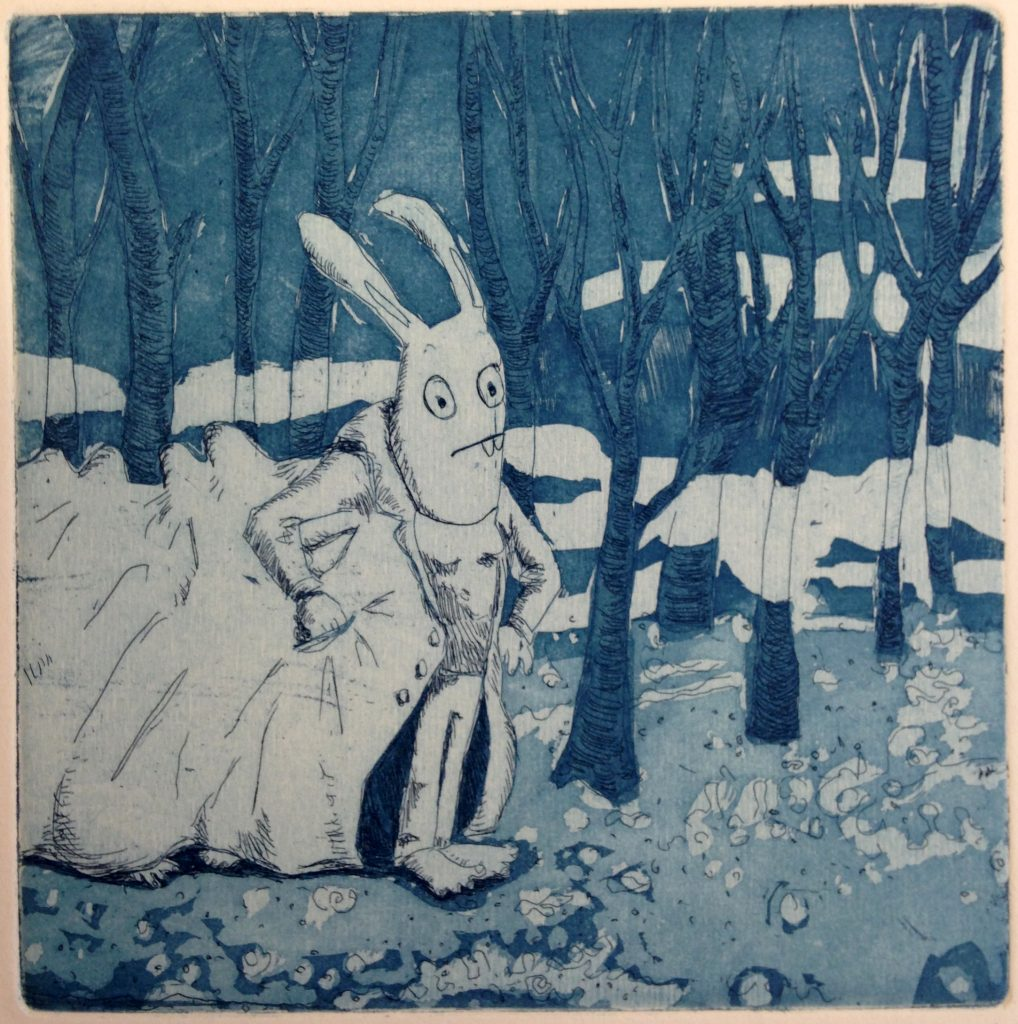 lapin-foret